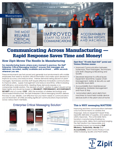 How to Improve Rapid Response Across Manufacturing