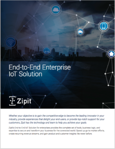 Zipit End-to-End IoT Solution